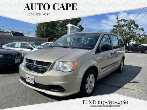 2013 Dodge Grand Caravan for sale at Auto Cape in Hyannis MA