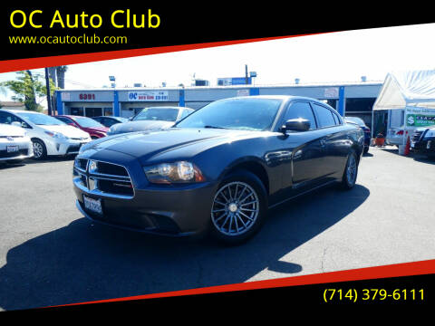 2013 Dodge Charger for sale at OC Auto Club in Midway City CA