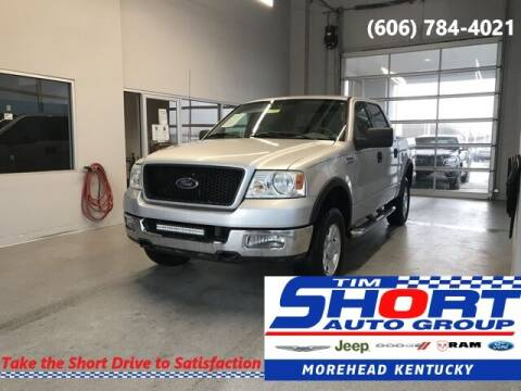 2004 Ford F-150 for sale at Tim Short Chrysler in Morehead KY