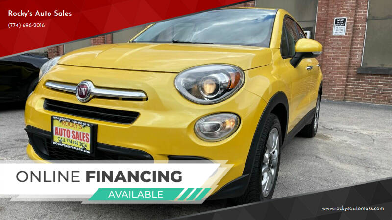 2016 FIAT 500X for sale in Worcester, MA