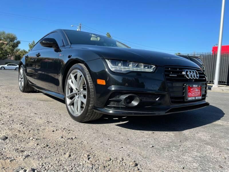 2017 Audi A7 for sale at Boktor Motors in Las Vegas NV