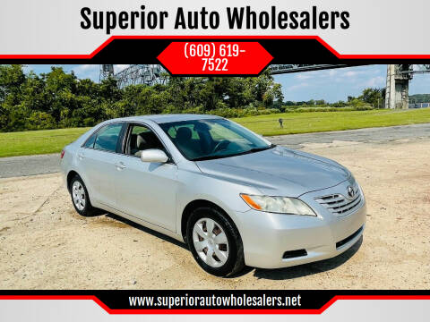 2008 Toyota Camry for sale at Superior Auto Wholesalers in Burlington NJ