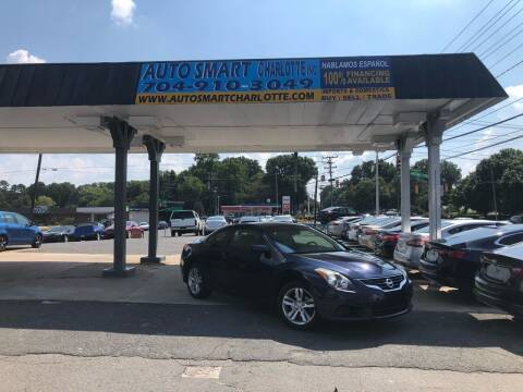 2010 Nissan Altima for sale at Auto Smart Charlotte in Charlotte NC