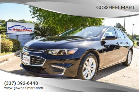 2017 Chevrolet Malibu for sale at GOWHEELMART in Leesville LA