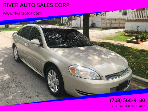 2012 Chevrolet Impala for sale at RIVER AUTO SALES CORP in Maywood IL