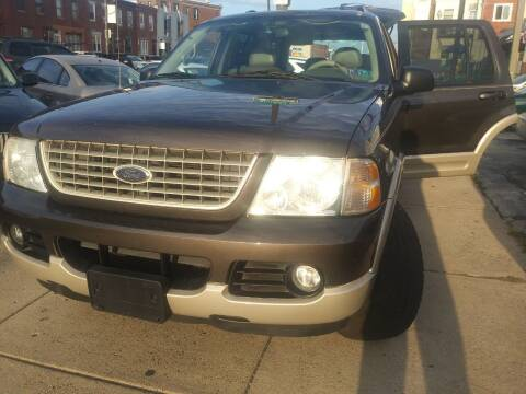 2005 Ford Explorer for sale at K J AUTO SALES in Philadelphia PA
