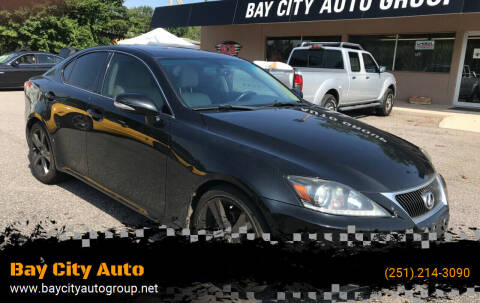 2013 Lexus IS 250 for sale at Bay City Auto's in Mobile AL