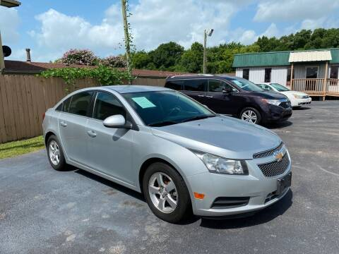 2013 Chevrolet Cruze for sale at ASTRO MOTORS in Houston TX