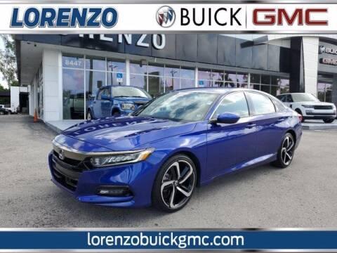 2018 Honda Accord for sale at Lorenzo Buick GMC in Miami FL