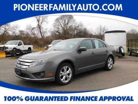 2012 Ford Fusion for sale at Pioneer Family auto in Marietta OH