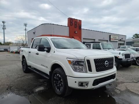 2018 Nissan Titan for sale at Best Buy Wheels in Virginia Beach VA