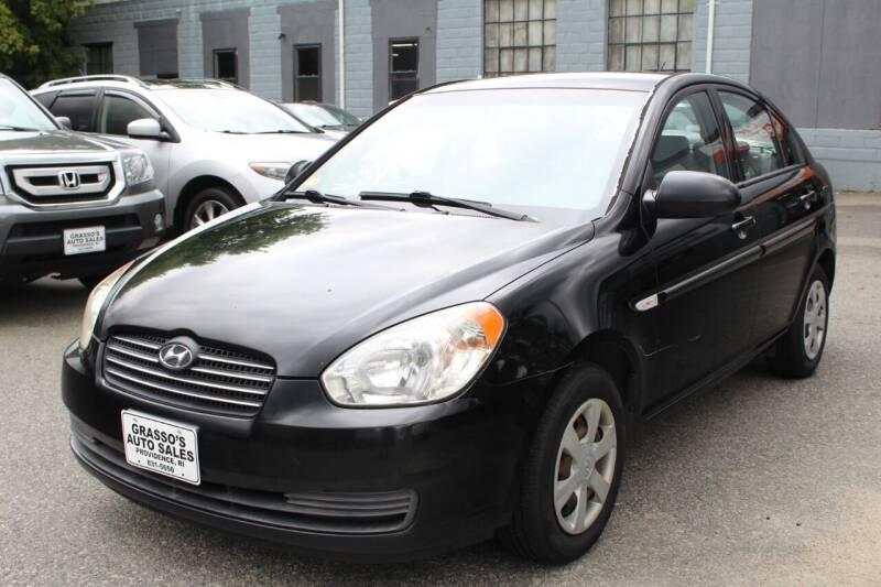 2007 Hyundai Accent for sale at Grasso's Auto Sales in Providence RI