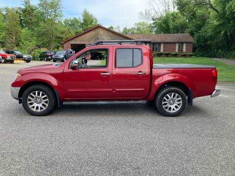 2010 Nissan Frontier for sale at Lou Rivers Used Cars in Palmer MA