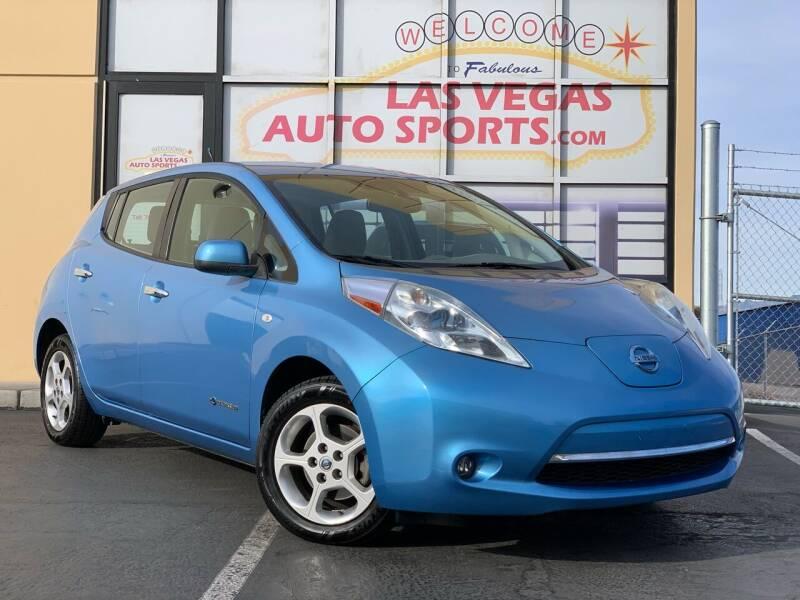 2012 Nissan LEAF for sale at Las Vegas Auto Sports in Las Vegas NV