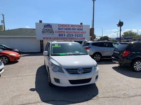 2011 Volkswagen Routan for sale at Choice Motors of Salt Lake City in West Valley  City UT