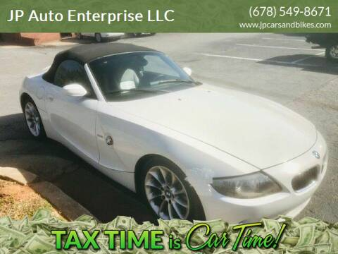 2004 BMW Z4 for sale at JP Auto Enterprise LLC in Duluth GA