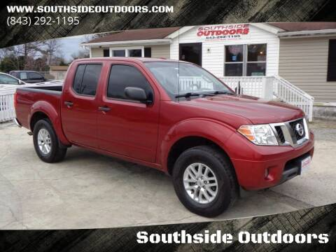 2016 Nissan Frontier for sale at Southside Outdoors in Turbeville SC