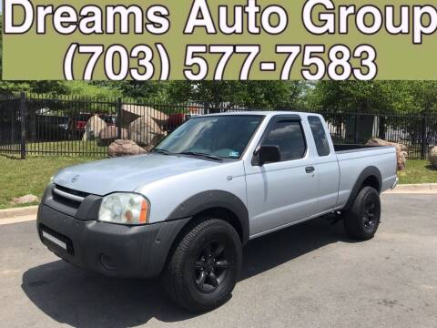 2002 Nissan Frontier for sale at Dreams Auto Group LLC in Sterling VA