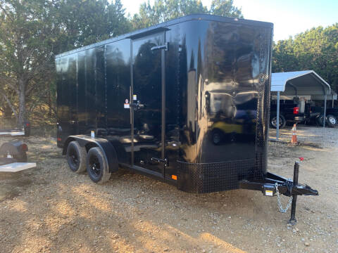 2021 CARGO CRAFT 7X16 RAMP for sale at Trophy Trailers in New Braunfels TX