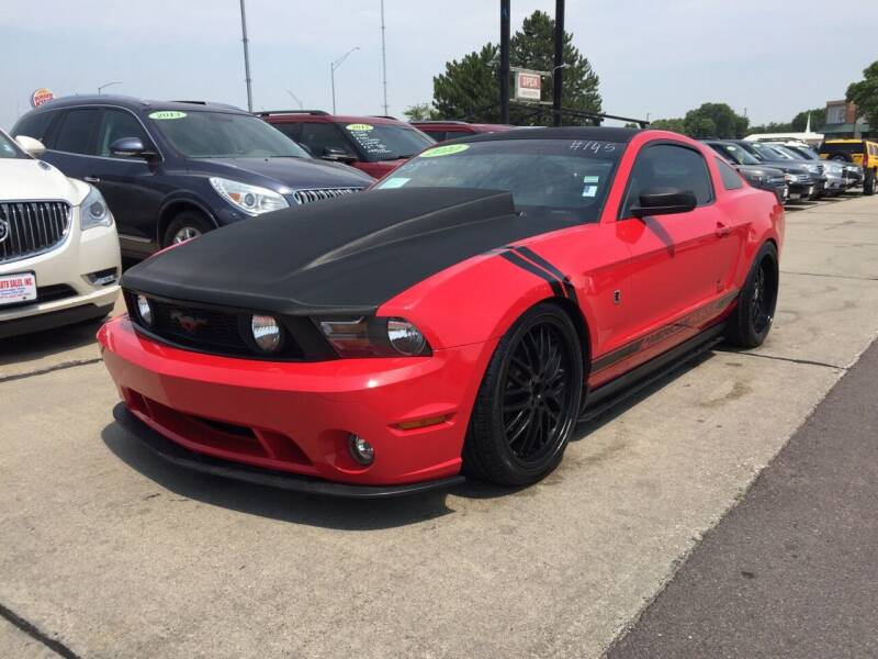2010 Ford Mustang for sale at De Anda Auto Sales in South Sioux City NE