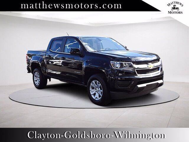 2020 Chevrolet Colorado for sale at Auto Finance of Raleigh in Raleigh NC