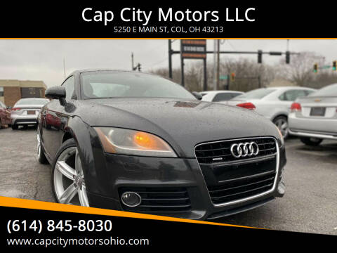 2011 Audi TT for sale at Cap City Motors LLC in Columbus OH