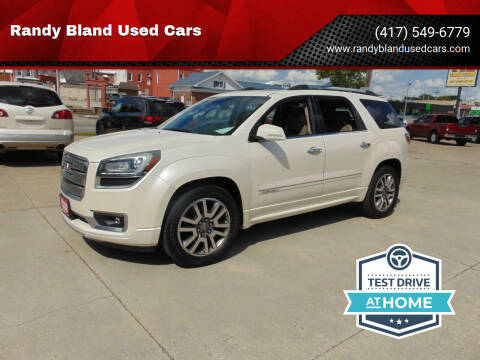 2013 GMC Acadia for sale at Randy Bland Used Cars in Nevada MO