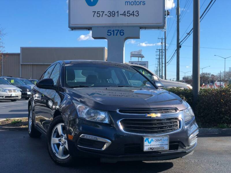 2016 Chevrolet Cruze Limited for sale at Driveway Motors in Virginia Beach VA