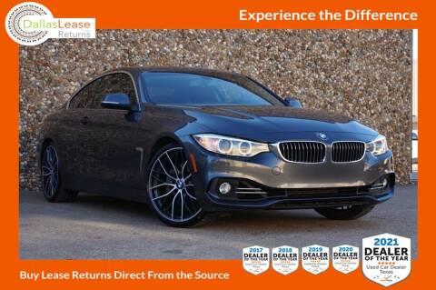 2014 BMW 4 Series for sale at Dallas Auto Finance in Dallas TX