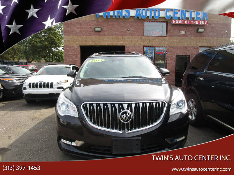 2015 Buick Enclave for sale at Twin's Auto Center Inc. in Detroit MI