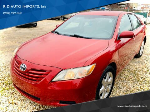 2009 Toyota Camry for sale at R-D AUTO IMPORTS, Inc in Charlotte NC