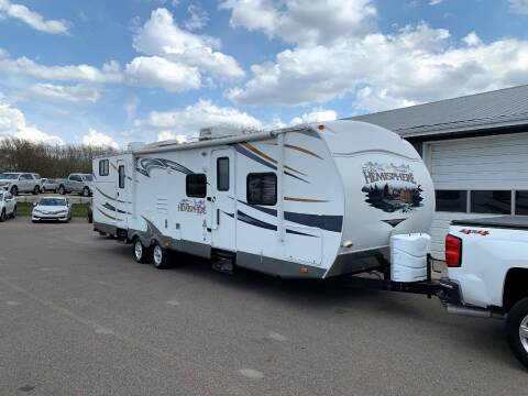 2013 Salem by Forest River Hemisphere Lite Series M-312QB for sale at PARKWAY AUTO in Hudsonville MI