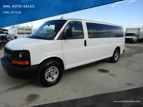 2012 Chevrolet Express Passenger for sale at AML AUTO SALES - Passenger Vans in Opa-Locka FL