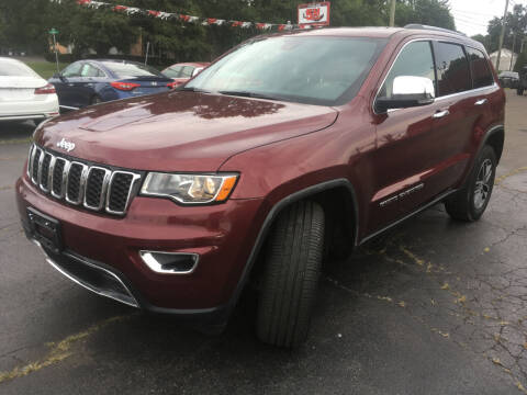 2018 Jeep Grand Cherokee for sale at MELILLO MOTORS INC in North Haven CT