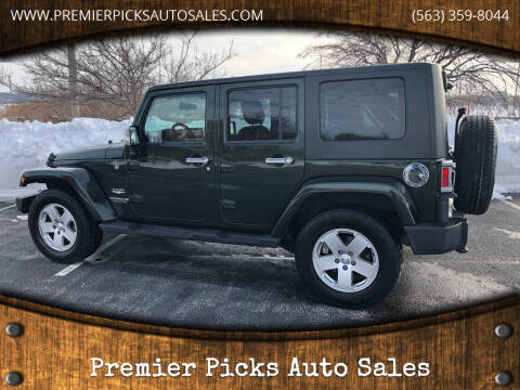 2010 Jeep Wrangler Unlimited for sale at Premier Picks Auto Sales in Bettendorf IA