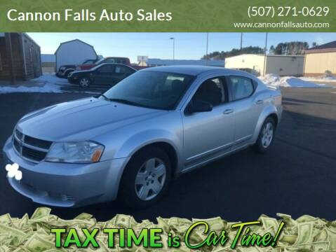 2008 Dodge Avenger for sale at Cannon Falls Auto Sales in Cannon Falls MN