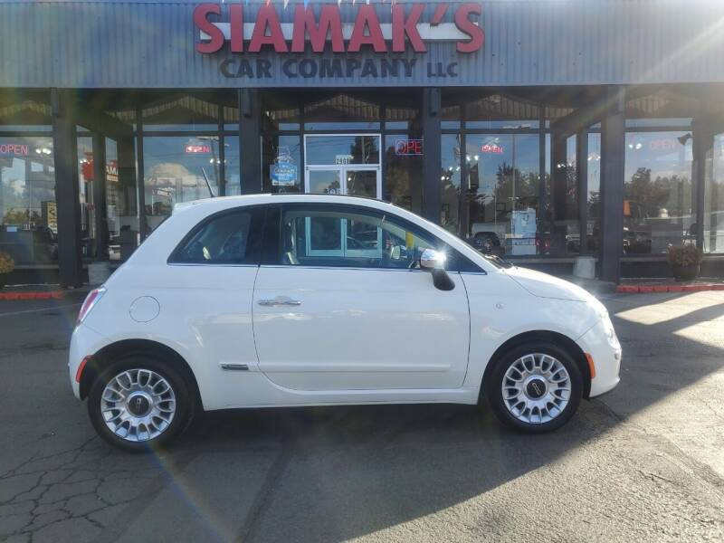 2013 FIAT 500 for sale at Siamak's Car Company llc in Salem OR
