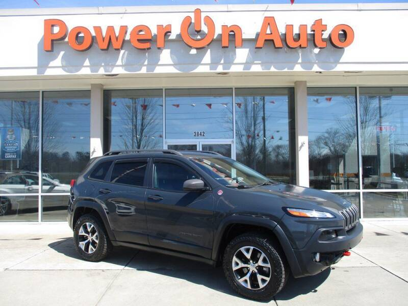 2016 Jeep Cherokee for sale at Power On Auto LLC in Monroe NC