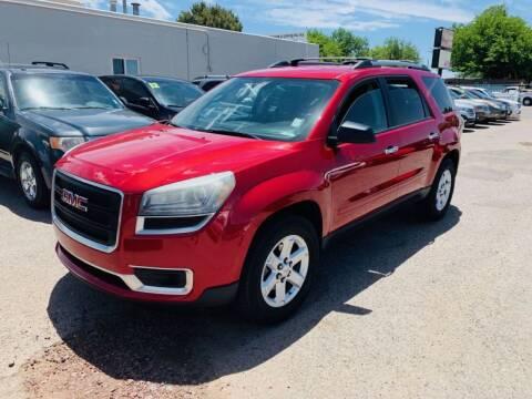 2013 GMC Acadia for sale at Top Gun Auto Sales, LLC in Albuquerque NM