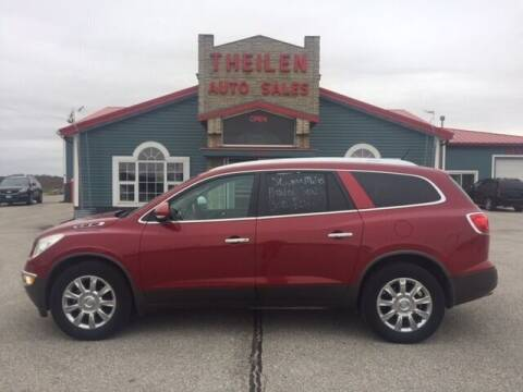 2012 Buick Enclave for sale at THEILEN AUTO SALES in Clear Lake IA