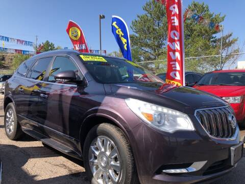 2015 Buick Enclave for sale at Duke City Auto LLC in Gallup NM