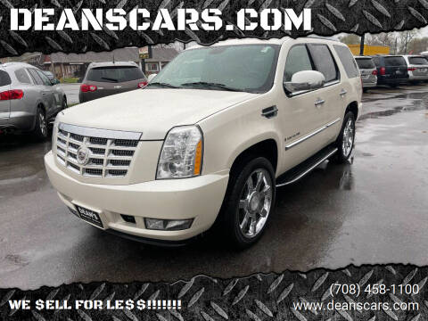 2009 Cadillac Escalade for sale at DEANSCARS.COM in Bridgeview IL