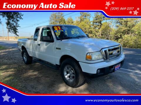 2007 Ford Ranger for sale at Economy Auto Sale in Modesto CA