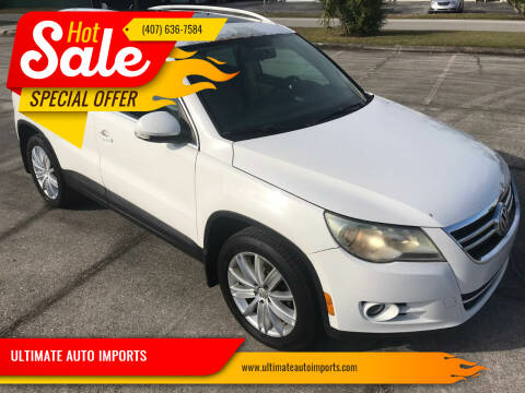 2009 Volkswagen Tiguan for sale at ULTIMATE AUTO IMPORTS in Longwood FL