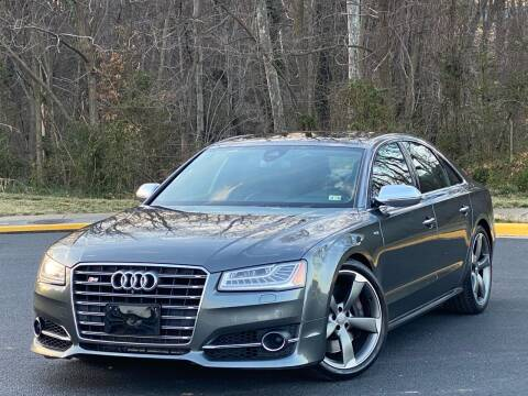 2015 Audi S8 for sale at Diamond Automobile Exchange in Woodbridge VA