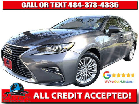2016 Lexus ES 350 for sale at World Class Auto Exchange in Lansdowne PA