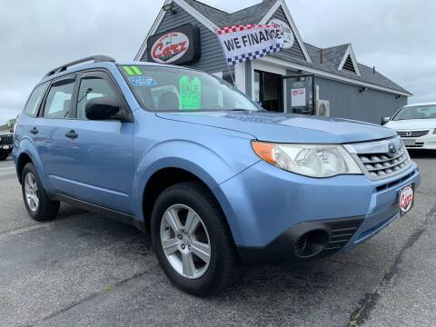 2011 Subaru Forester for sale at Cape Cod Carz in Hyannis MA