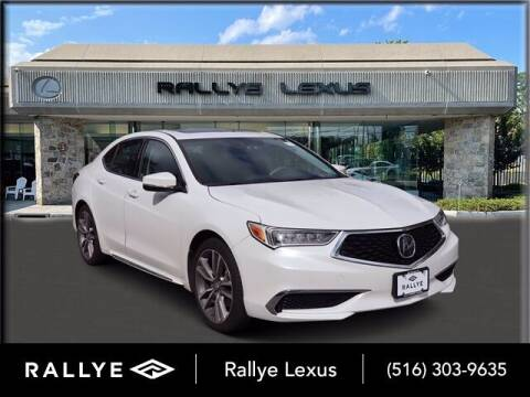 2019 Acura TLX for sale at RALLYE LEXUS in Glen Cove NY