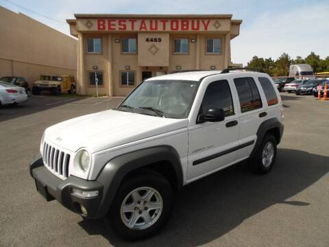 2003 Jeep Liberty for sale at Best Auto Buy in Las Vegas NV