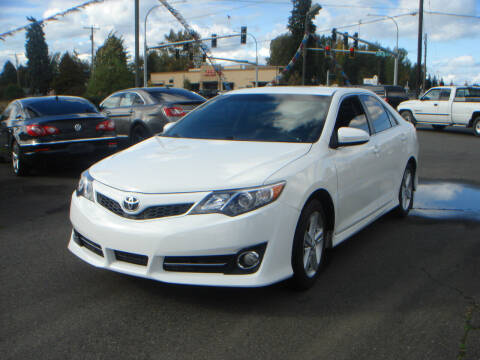 2013 Toyota Camry for sale at Sound Auto Land LLC in Auburn WA